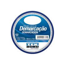 Fita De Demarcacao Tekbond 48mm X 15m Azul -