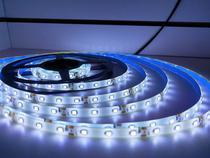 Fita de led 2835 branca 12v 5m 300 leds com silicone e fonte - Telintec