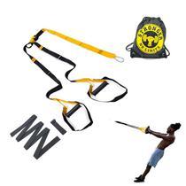 Fita De Treinamento Suspenso Kit Para Treino Funcional Suspensão Pilates Trx - Be Stronger