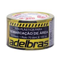 Fita Demarcação de Área 70x100 Adelbras -