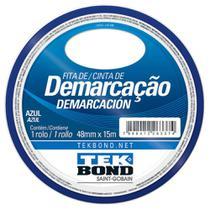 FITA DEMARCACAO SOLO 48mm x 15METRTOS AZUL TEKBOND -