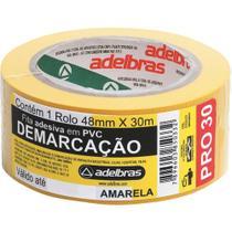 Fita Demarcacao Solo Adelbras 48x30m Amarela  803050002 -