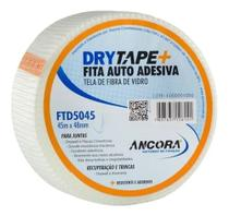 Fita Drywall Telada Fibra Vidro Trincas 48mm X 45mt - Ancora