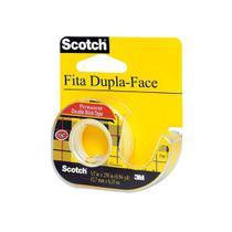Fita Dupla Face 12,7mm x 6,3m 3M Scotch com Disp Cm-062 12 Unidades -