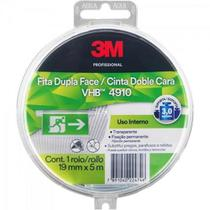 Fita Dupla Face 19MM X 5M VHB 4910 Estojo Transparente 3M -