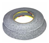 Fita Dupla Face 3m  Rolo 50 Metros X 3mm Brand Tape Preta - Global