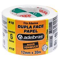 Fita Dupla Face Adelbras 12mmX30m - Adelbrás