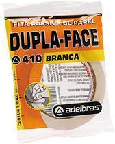 Fita dupla face ADELBRAS flow-pack branca 12mmx30m -