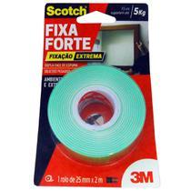 Fita Dupla Face Espuma 24x2 Fixa Forte Extrema - 3M -
