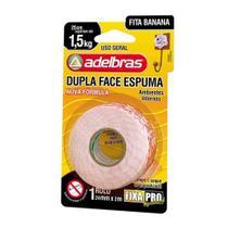 Fita Dupla Face Espuma Fixa Pro 24mm x 2m Adelbras -