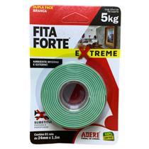 Fita Dupla Face Fita Forte 24mm X 1,5m Adere 5kg Extreme -
