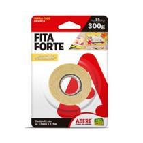 Fita Dupla Face Fixa Forte 12X1,5 mm Decoração- Adere -