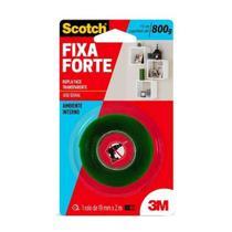 Fita Dupla Face Fixa Forte 19mm com 2m - 3M -