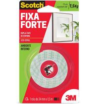 Fita Dupla Face Fixa Forte Espuma 3M 24MM X 1.5M SCOTCH -