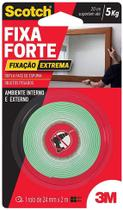 Fita Dupla-Face FIXA FORTE EXTREME 24MM X 2M - 3M