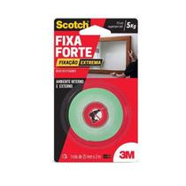 Fita Dupla Face Fixa Forte Extreme 24mm x 2m - 3M -