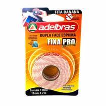 Fita Dupla Face Fixa Pro 19mm x 2 Metros - Adelbras