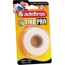 Fita Dupla Face Fixa PRO Espuma 19MMX2M - Adelbras