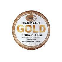 FITA DUPLA FACE para Prótese e Lace (5 mt x 1,90 mm) - Gold - W Tape