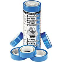 Fita Durex 12mmx10m Azul 10 unidades - Adelbras -