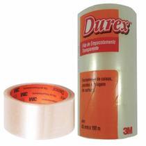 Fita Durex Empacotamento 3M 45cmx100m Transparente - 05 Unidades -