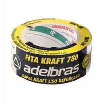 Fita empacotamento 48x50 kraft liso / rl / adelbras -