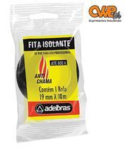 Fita isolante antichama 19mmx10m (adelbras) -