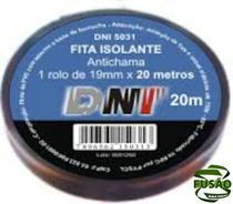 Fita Isolante C cola Dni 20mts,un-dni5031-dni5031 Dni5031 - Dni - Reles/Sirene