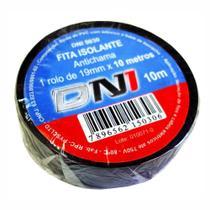 Fita Isolante em PVC Preta 10m - DNI 5030 -