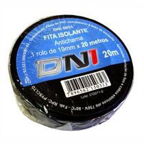 Fita Isolante em PVC Preta 20m - DNI 5031 -