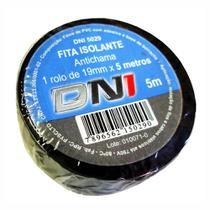 Fita Isolante em PVC Preta 5m - DNI 5029 -