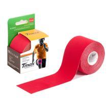Fita Kinésio Bandagem Adesiva Tmax - Vermelho - Bioland