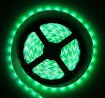 Fita LED 2835 Verde 300 Leds 5 M 12V IP20 Dupla Face - Boreal Led