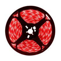 Fita Led 3528 5m 300 Leds Dupla face à prova d'água - Vermelho - Super Led