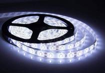 Fita LED 5050 BRANCO FRIO Rolo 5m com fonte 12V 5A - Bcs