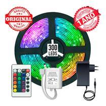 Fita LED 5m Ultra RGB 5050 Prova D'agua + Controle + Fonte - La Vie Presentes