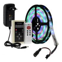 Fita Led Digital 6803 Rgb 268 Efeito C/controle+fonte - Importador