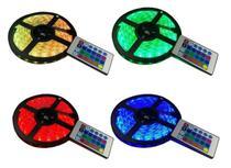 Fita Led RGB 5050 IP65 Rolo de 5m + Controle - Comercializado Por Império Dos Leds