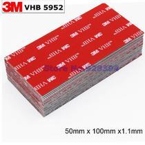 Fita Ligação 3M Vhb Dupla Face 100x50mm - Preto -