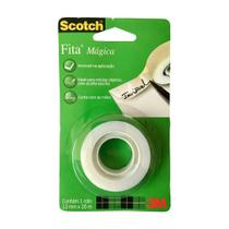 Fita Magica 12mm X 20m Invisivel Scotch 3m -