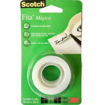 Fita Mágica 12mmx20m Scotch - 3M UNICA -