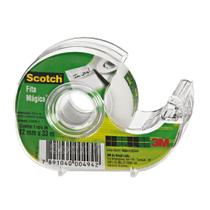 Fita Mágica 3M Scotch Com Dispensador - 12 mm x 33 m -