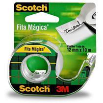 Fita Magica Scotch 810 12mmx10m.c/aparelho 3m Pct.c/04 -