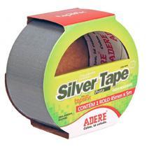Fita Multiuso Silver Tape 45mm com 5m Cinza - Adere -