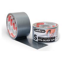 Fita Multiuso Silver Tape 48mm x 5m ADELBRAS-Prateado - Multiprimer