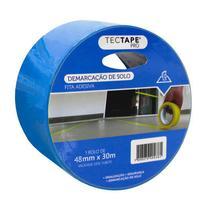 Fita para demarcação de solo 48x30 - azul - Tectape -