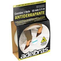 Fita para Demarcacao de Solo Antiderrapante 50MMX5MTS TRANS - Adelbras