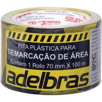 Fita Para Demarcação Sinalizar Area Restrita 70100 - Adelbras