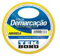 Fita para Demarcação Tek Bond Amarela 48mmx15m -