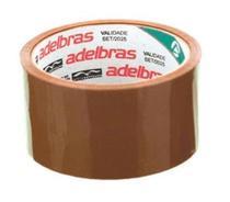 Fita para Embalagem 48X40 - MARRON - 4 und - Adelbras -